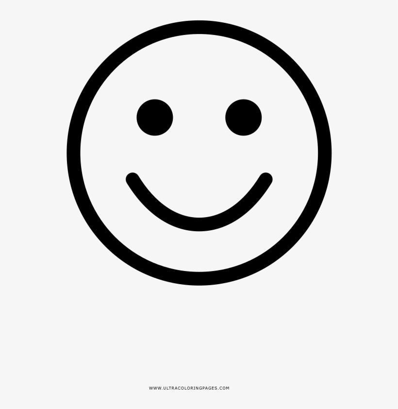 Free Carita Feliz Para Colorear De Emoji Para Desenhar 1000x1000