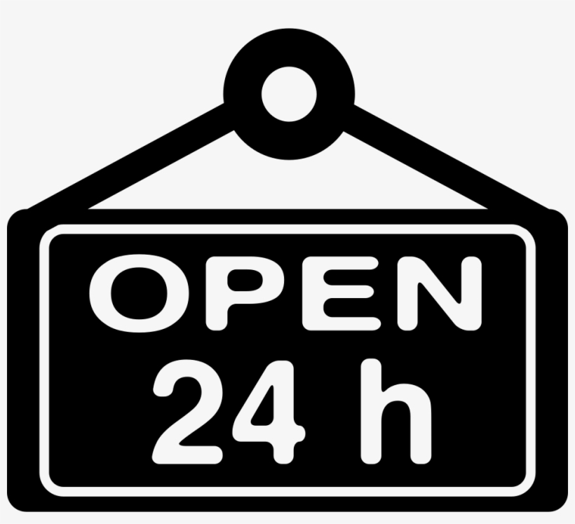 open 24 hours signboard open 24 hours icon 980x846 png download pngkit 24 hours signboard open 24 hours icon