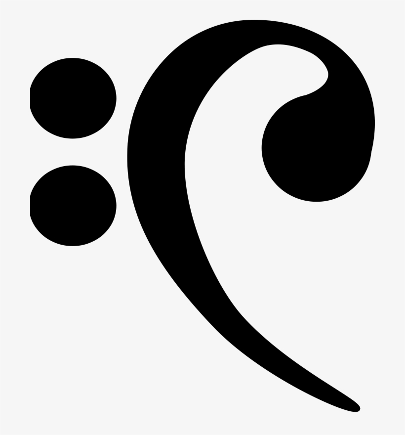 Bass Clef icon. Black icon on transparent background. | Bass logo, Photo,  Phone wallpaper