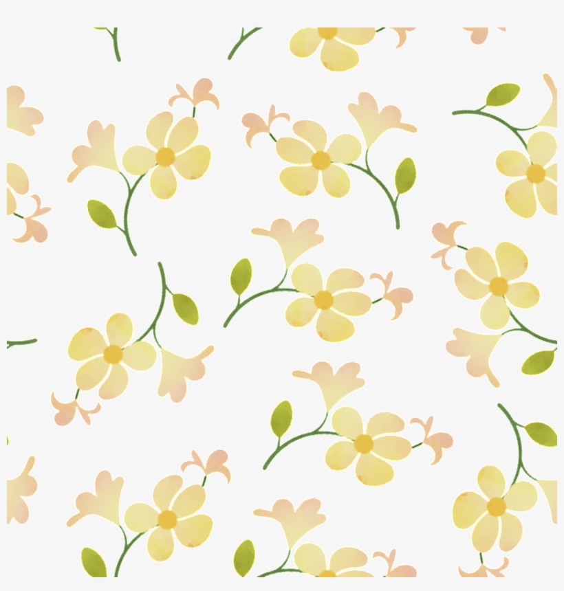 Download Yellow Flower Background Watercolor