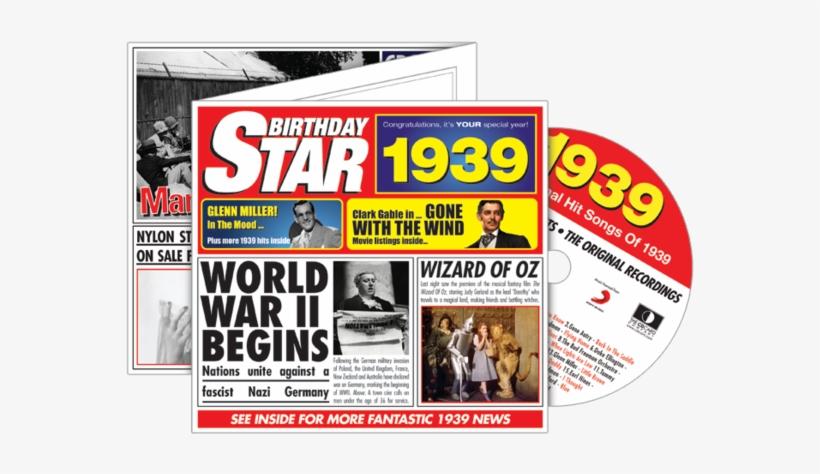 1939 Birthday Star Gifts Set