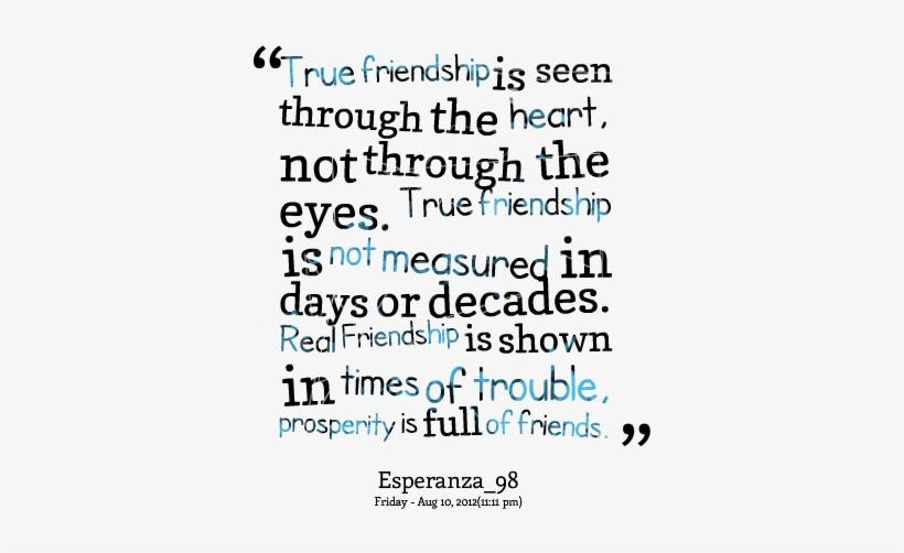 True Friendship Quotes True Friends Means 411x489 Png Download Pngkit