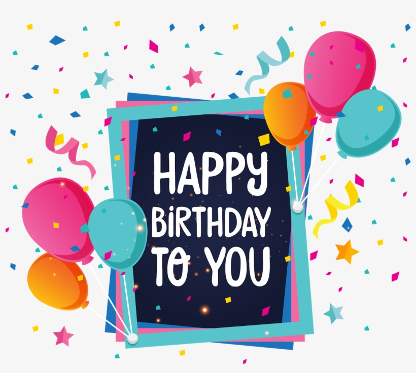 Birthday Png Backgrounds Hd - Happy Birthday 2018 New