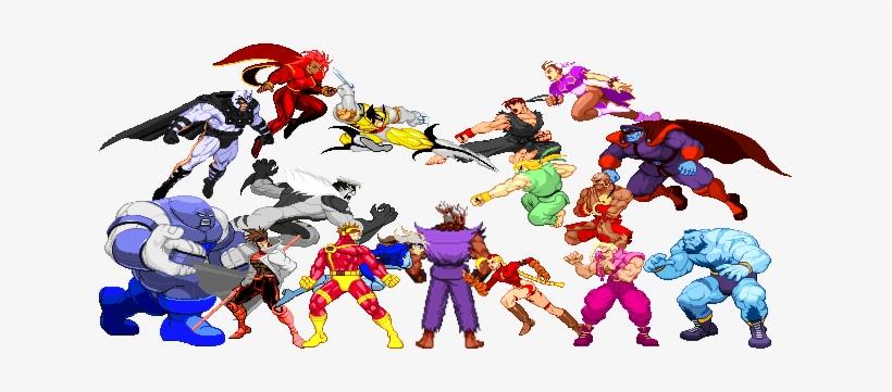 Download X Men Vs Street Fighter Png Clipart X Men X Men Vs