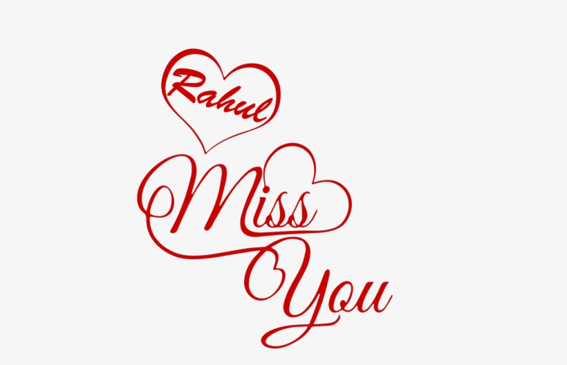 I Love You Rahul Name Wallpaper - Tanu