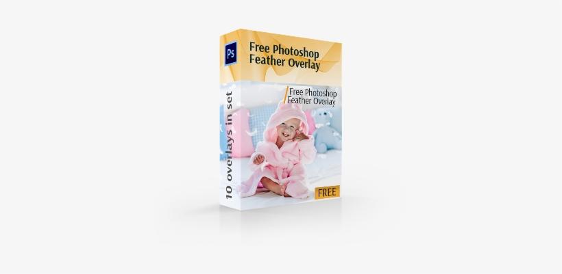 Photoshop Feather Overlay Free Cover Box - Adobe Photoshop - 370x344