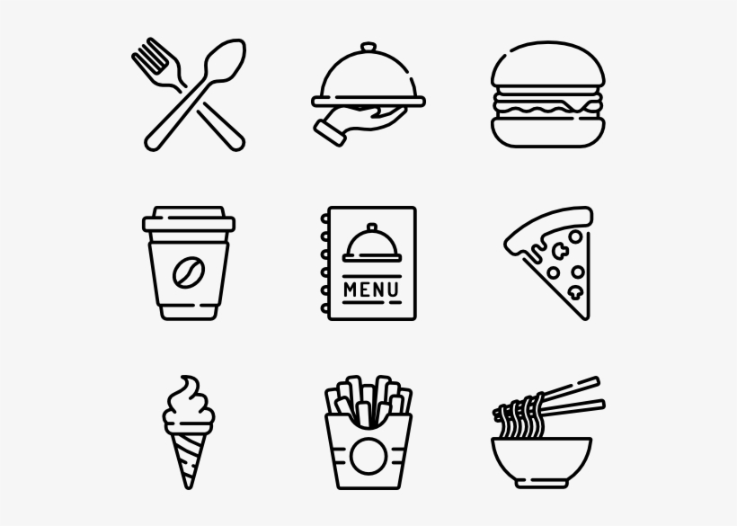 Fast Food Hobbies Icon 600x564 Png Download Pngkit