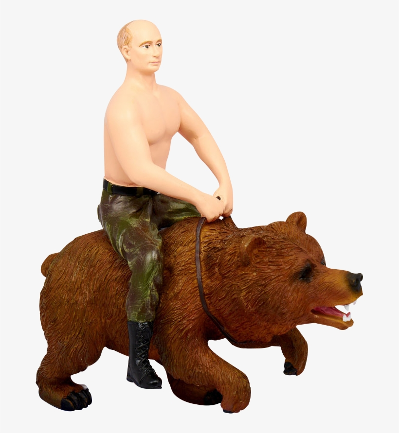 Download Oso Putin 1 Putin Ride Bear Full Size Png Image Pngkit