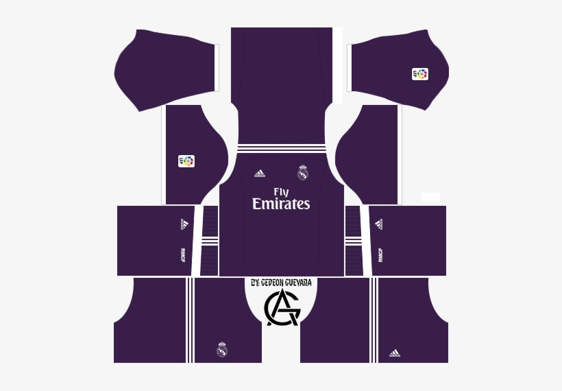 Kit S Fifa Y Dls On Twitter Fts 17 Kits Real Madrid 490x490 Png Download Pngkit