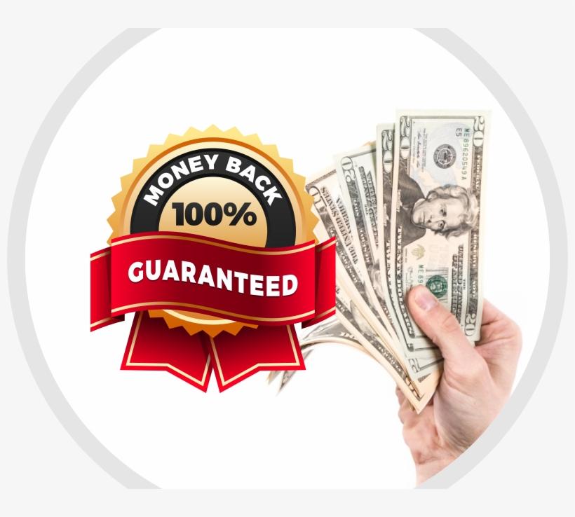 Money Back Badge Vector 1 - 20 Us Dollar - 800x658 PNG Download - PNGkit