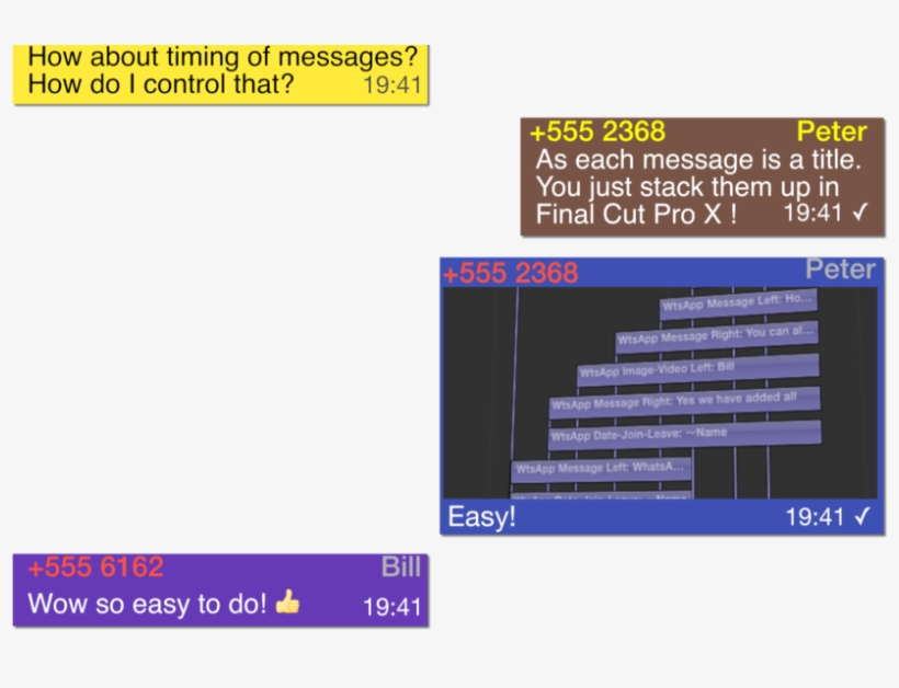 Sample Grab From Xeffects Messages Plugins For Final - Final