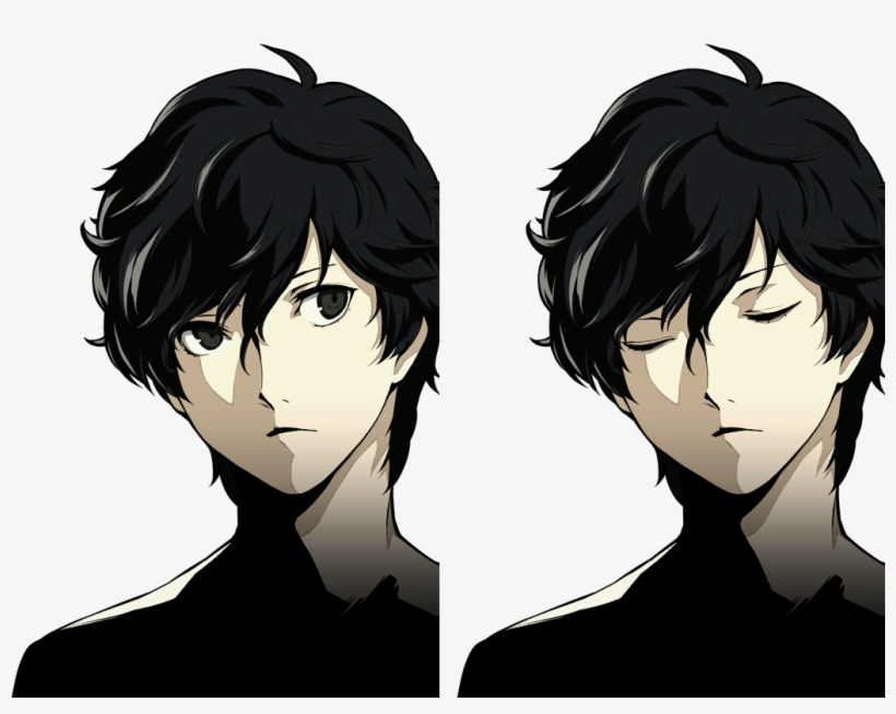 Persona 5 Protagonist Akira Kurusu Phantom Thief Joker Cartoon 1030x772 Png Download Pngkit