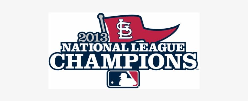 Louis Cardinals 2013 Champion Logo Light Iron On Stickers Braves