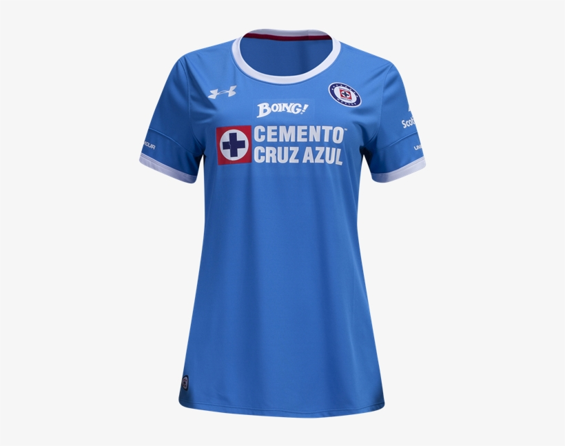 76c6faf6131 Cruz Azul 16 17 Women s Home Soccer Jersey Shop Liga - Under Armour Cruz  Azul Womens Home Jersey 16 17 J968502