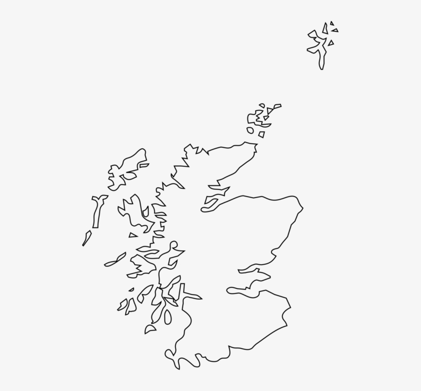 blank map of scotland printable Scotland Blank Map Outline Of Geography Map Of Scotland Template blank map of scotland printable