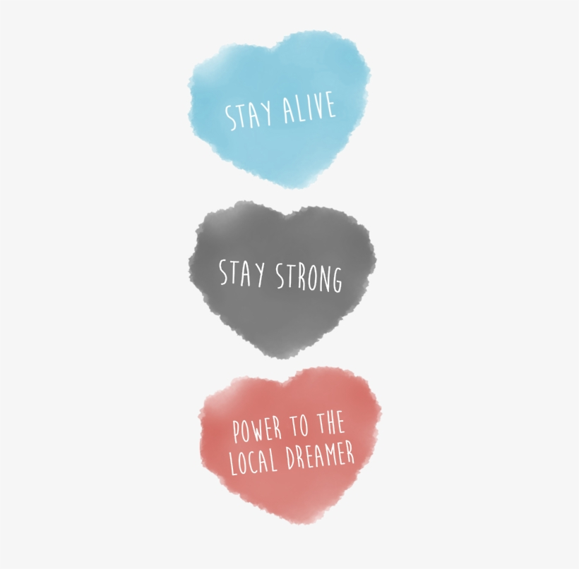 Quotes Tumblr And Stay Alive Image Heart 350x750 Png Download Pngkit