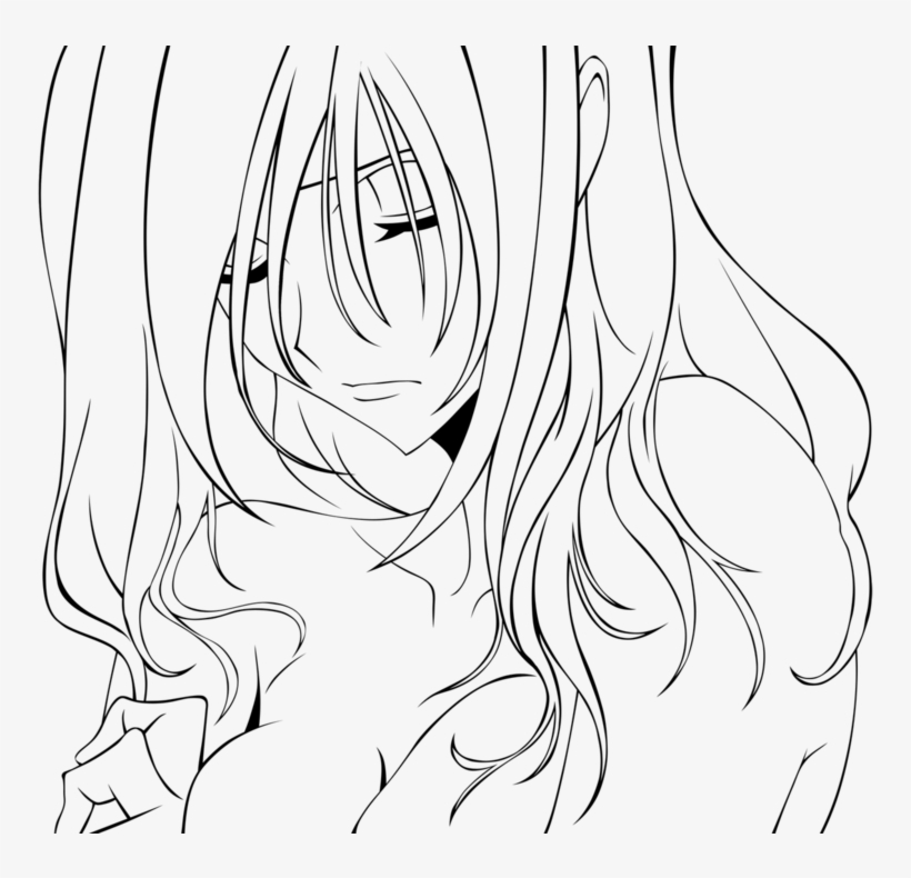Lonely Girl Anime Coloring Pages Couples Transparent 900x709 Png Download Pngkit