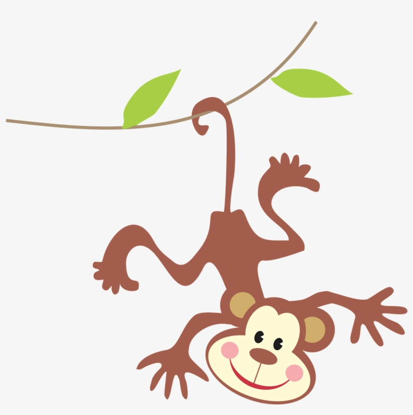 Free Hanging Monkey Clipart Black And White, Download Free Clip Art, Free Clip  Art on Clipart Library