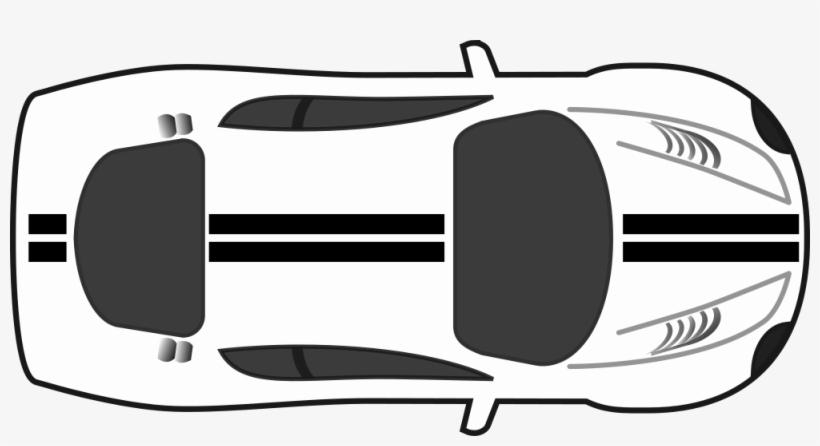 Onlinelabels Clip Art Race Car Top Down Clipart 1000x496 Png