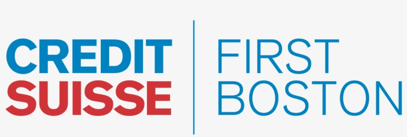 Logo Credit Suisse First Boston - Credit Suisse First Boston