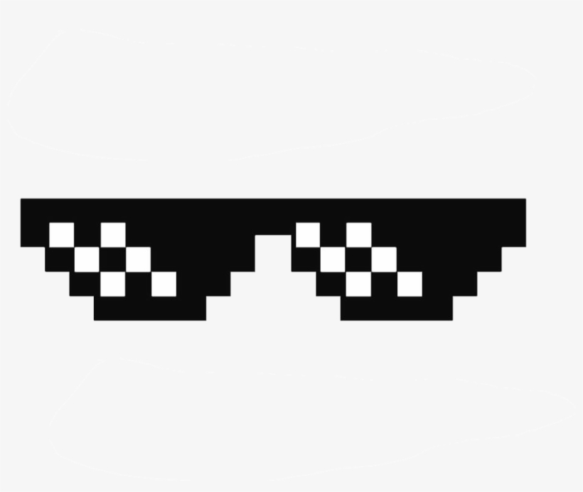 73228f6a1f8e Deal With It Glasses Thug Life Sunglasses By Swagasaurus - Thug Life  Accessories Png