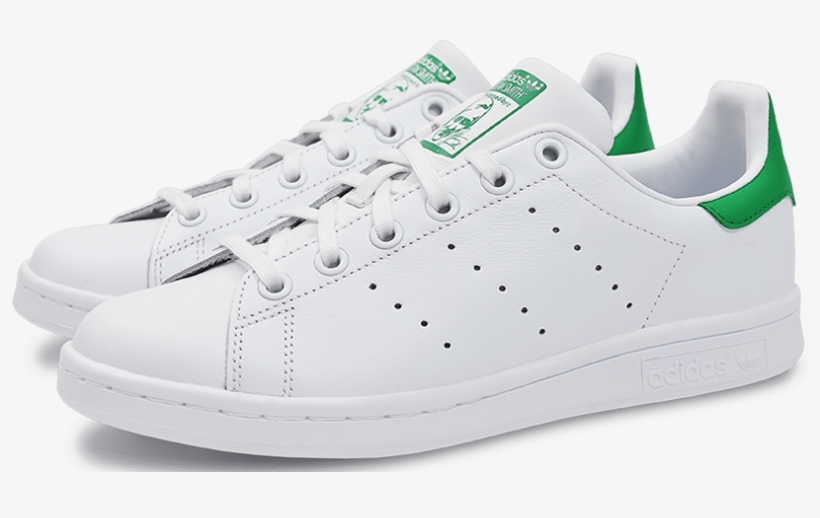 Planeta Caballero Objetado  Adidas Originals Stan Smith White/green Sneakers - Stan Smith Shoes Png -  810x438 PNG Download - PNGkit
