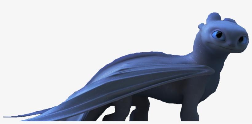 Light Fury, Semi-full Body - 1920x816 PNG Download - PNGkit