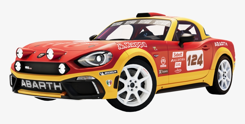 Abarth 124 Rally - The Crew 2 - 900x506 PNG Download - PNGkit