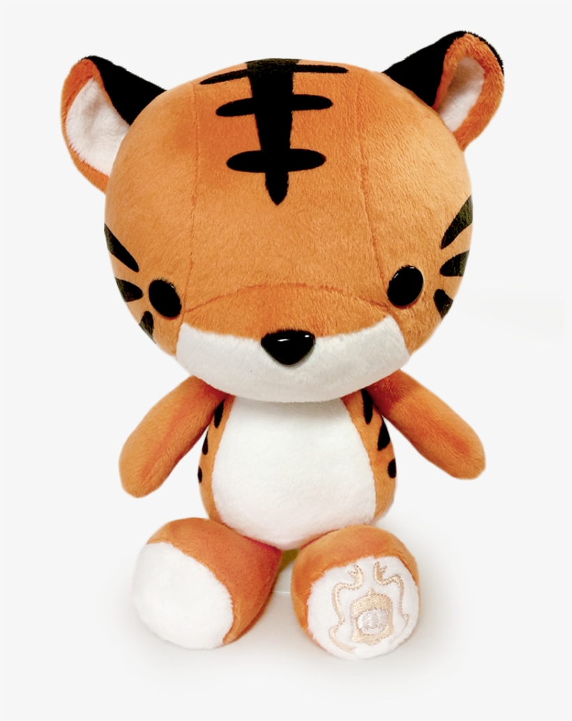 Kawaii Tiger Plush 850x1124 Png Download Pngkit