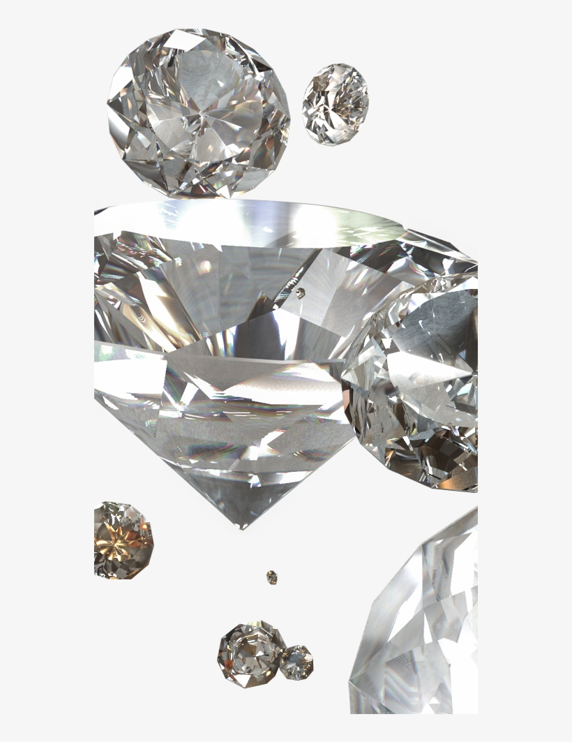 Diamond - 3d Model - - C4d - Tf3dm - 3d - - Diamond - 550x1000 PNG