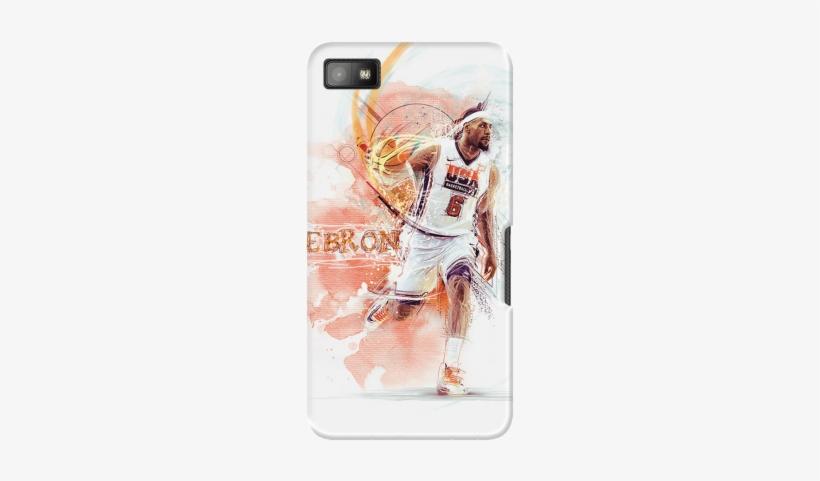 1159c8397723 Lebron Case For Blackberry Z10 - Nike Lebron - 300x400 PNG Download ...