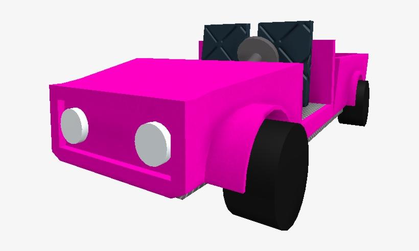 Pinkcar - Roblox Lumber Tycoon 2 Pink Car - 627x412 PNG