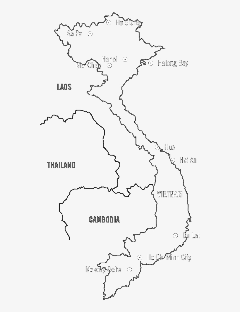 Picture of: Simple Maps Of Vietnam 1000×1020 Png Download Pngkit