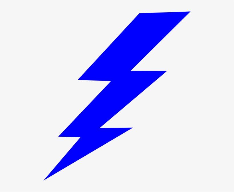 Lighting Bolt Png Blue Lightning Bolt Png 516x595 Png Download Pngkit