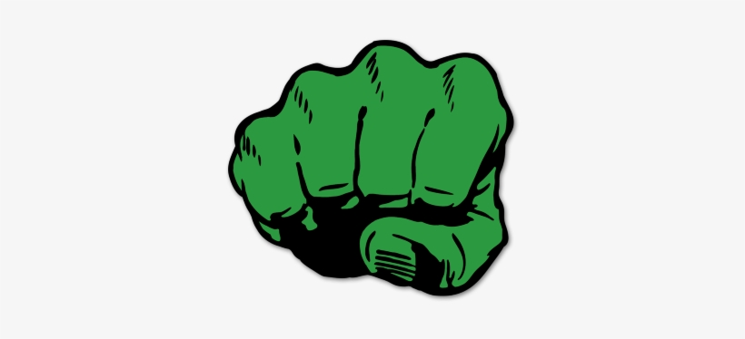 Fist Transparent Hulk Soco Do Hulk Desenho 400x400 Png