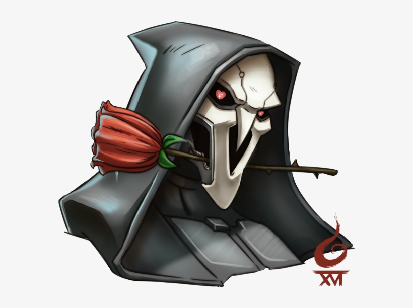 24+ Reaper Overwatch Face  PNG