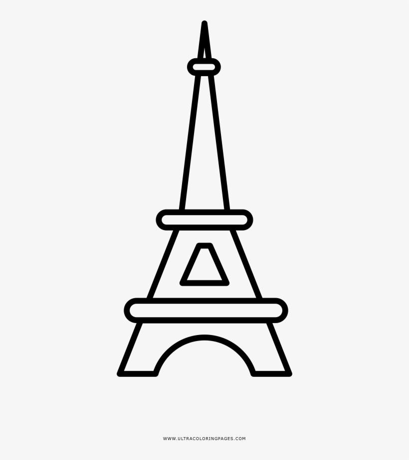 Dibujo De Torre Eiffel Para Colorear Eiffelturm