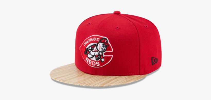 New Era 9fifty Cincinnati Reds Topps 1987 Snapback - Bone 950 Original Fit  Miami Heat Nba Aba Reta Snapback df82b60240c