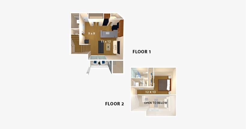 Bent Tree Apartments Floor Plan 414x415 Png Download Pngkit