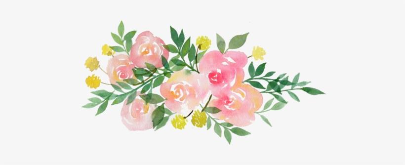 Etiquetas Redondas Con Flores 599x264 Png Download Pngkit