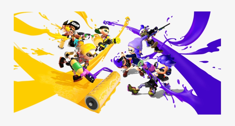 What Is Splatoon Splatoon 2 723x360 Png Download Pngkit