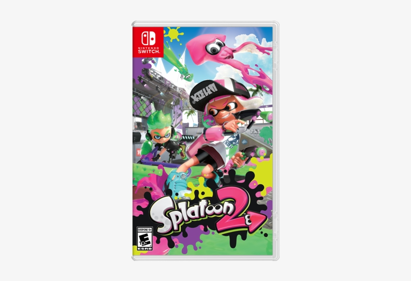 Splatoon 2 Box Art Nintendo Splatoon 2 Switch Last 30