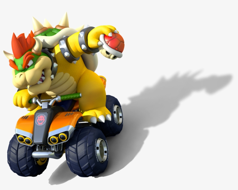 636px-bowser Artwork - Mario Kart 8 Deluxe Bowser - 636x479