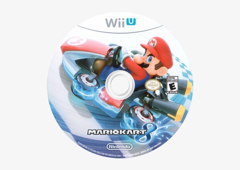 Mario Kart 8 Wiiu Disc Nintendo Wii U 500x500 Png Download