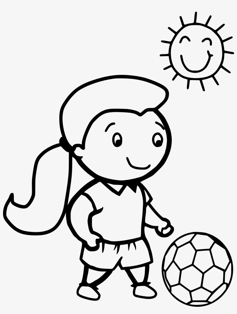 Free Printable Soccer Coloring Pages For Kids | 1085x820