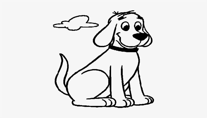 Clifford-3 - Clifford Coloring Pages - 570x533 PNG Download - PNGkit