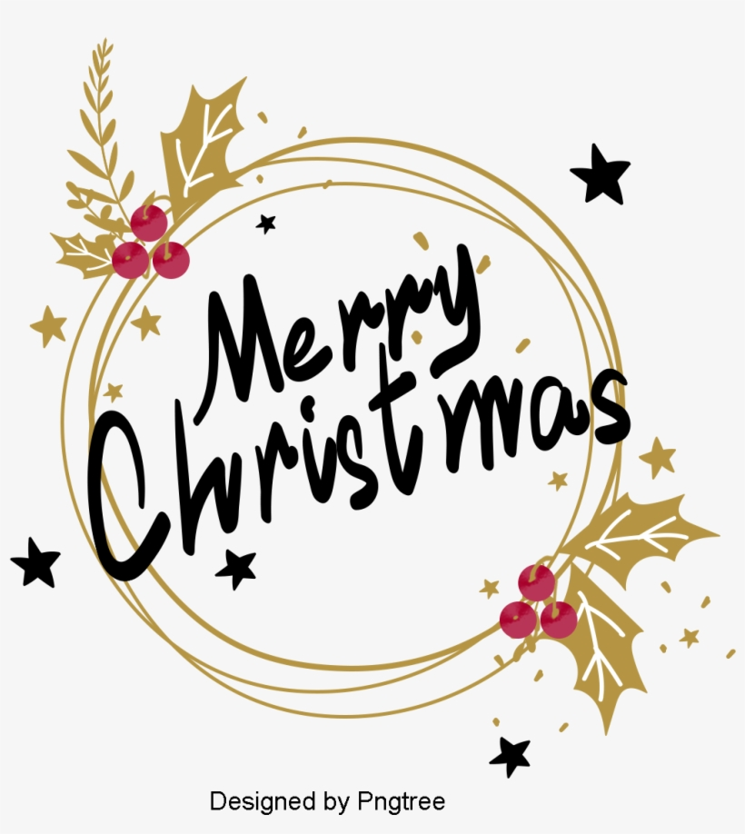 d97aece1b285 Golden Simple Christmas Happy Border
