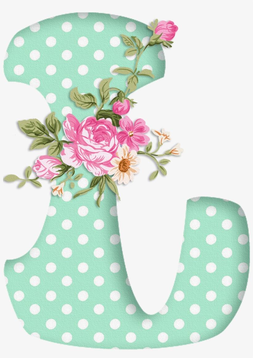 Abecedario Con Flores Moldes De Letras Con Flores Para Imprimir