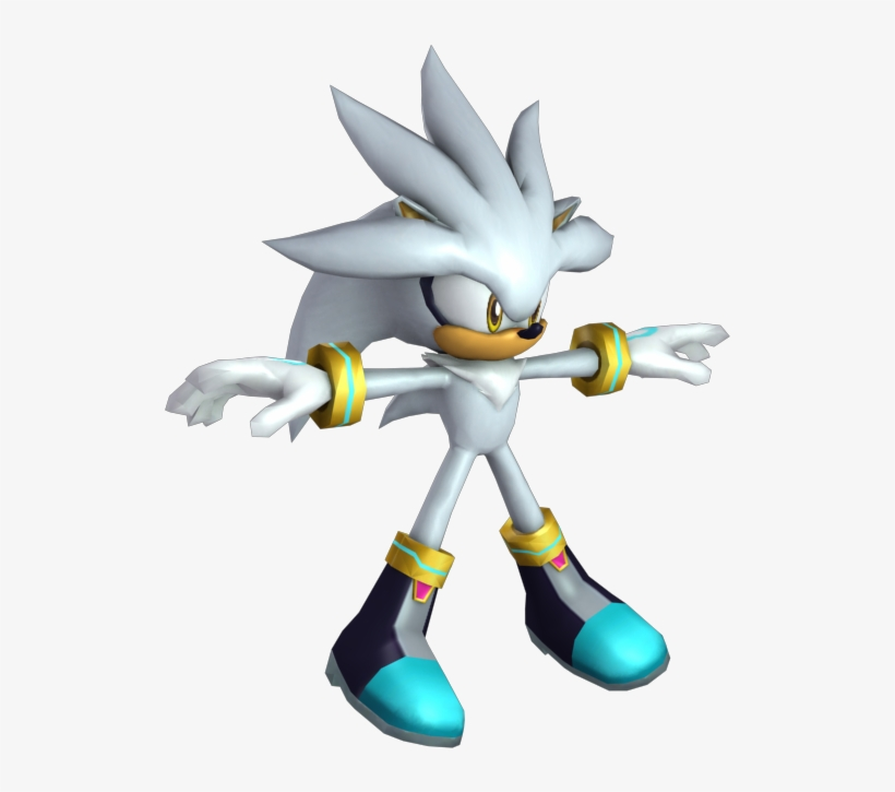 Silver Model Sonic And The Secret Rings Models 750x650 Png Download Pngkit