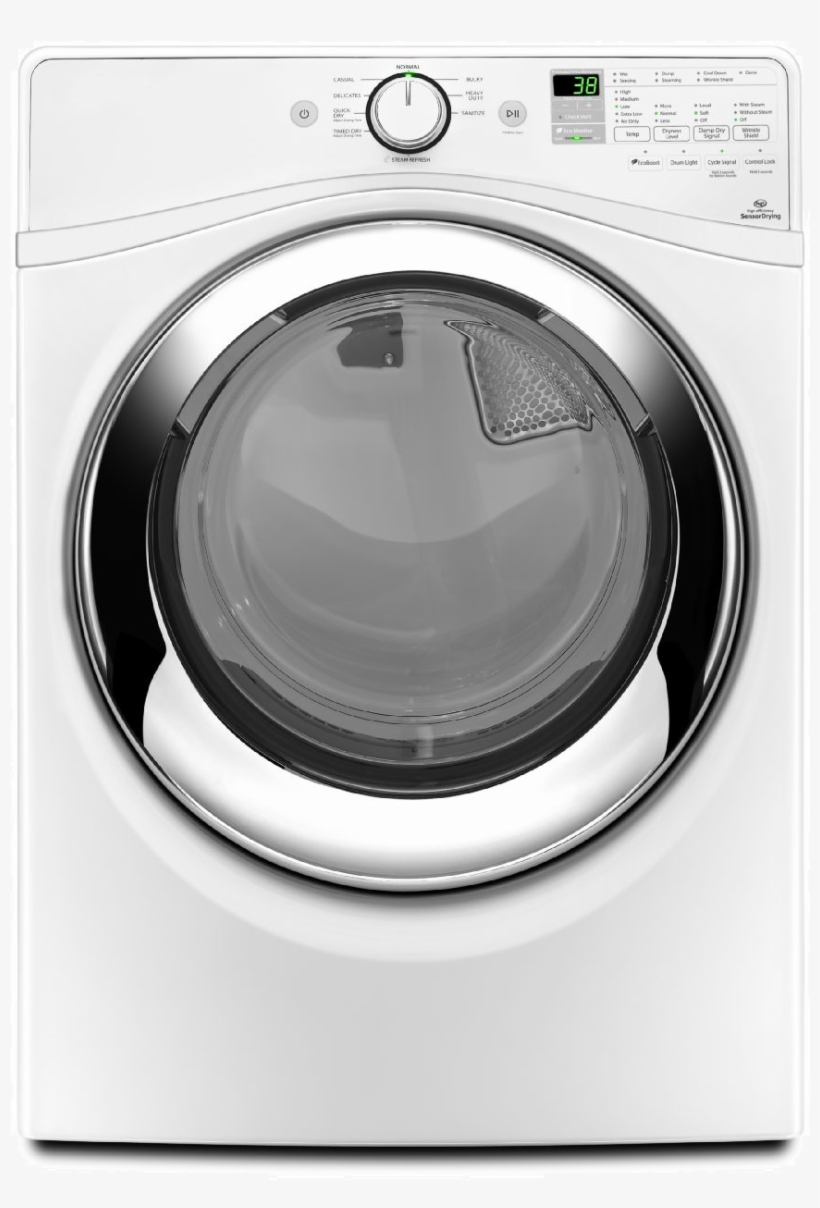 Clothes Dryer Machine Png Hd - Whirlpool Direct Drive Duet